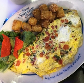 Omelette with Tater Tots