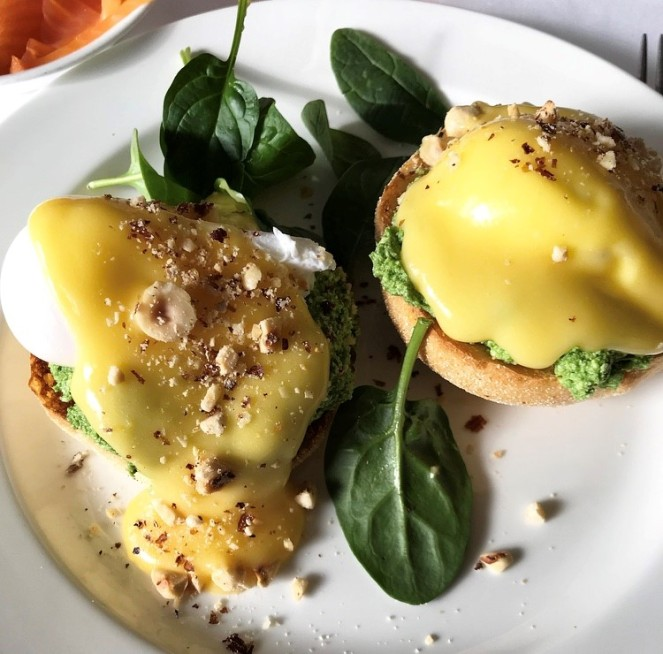 Ricotta and Spinach Hollandaise